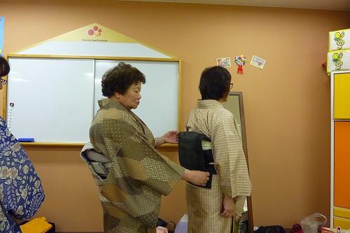 装道礼法きもの着付教室 レッスン写真