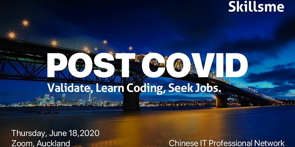 Validate, Learn Coding, Seek Jobs in Post Covid World Eric Jiang