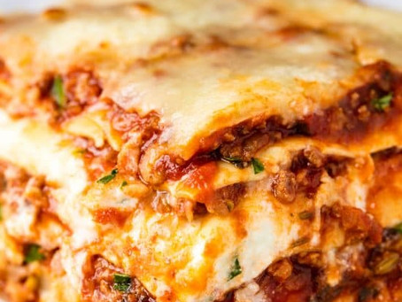 Lasgna without cheese recipe