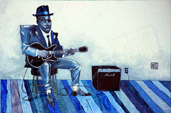 """""""Just Blues"""", by Todd White"""