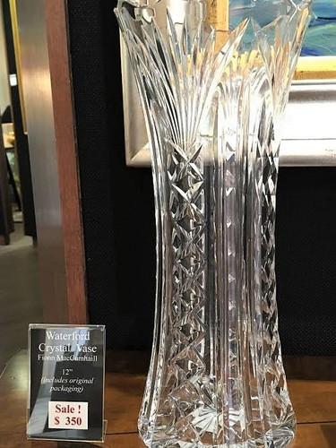 Crystal Vase, by Waterford