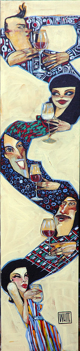 """""""Wined Up"""", by Todd White"""