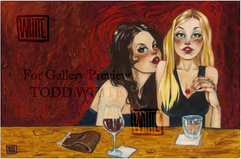 """""""Girly Drinks"""", by Todd White"""