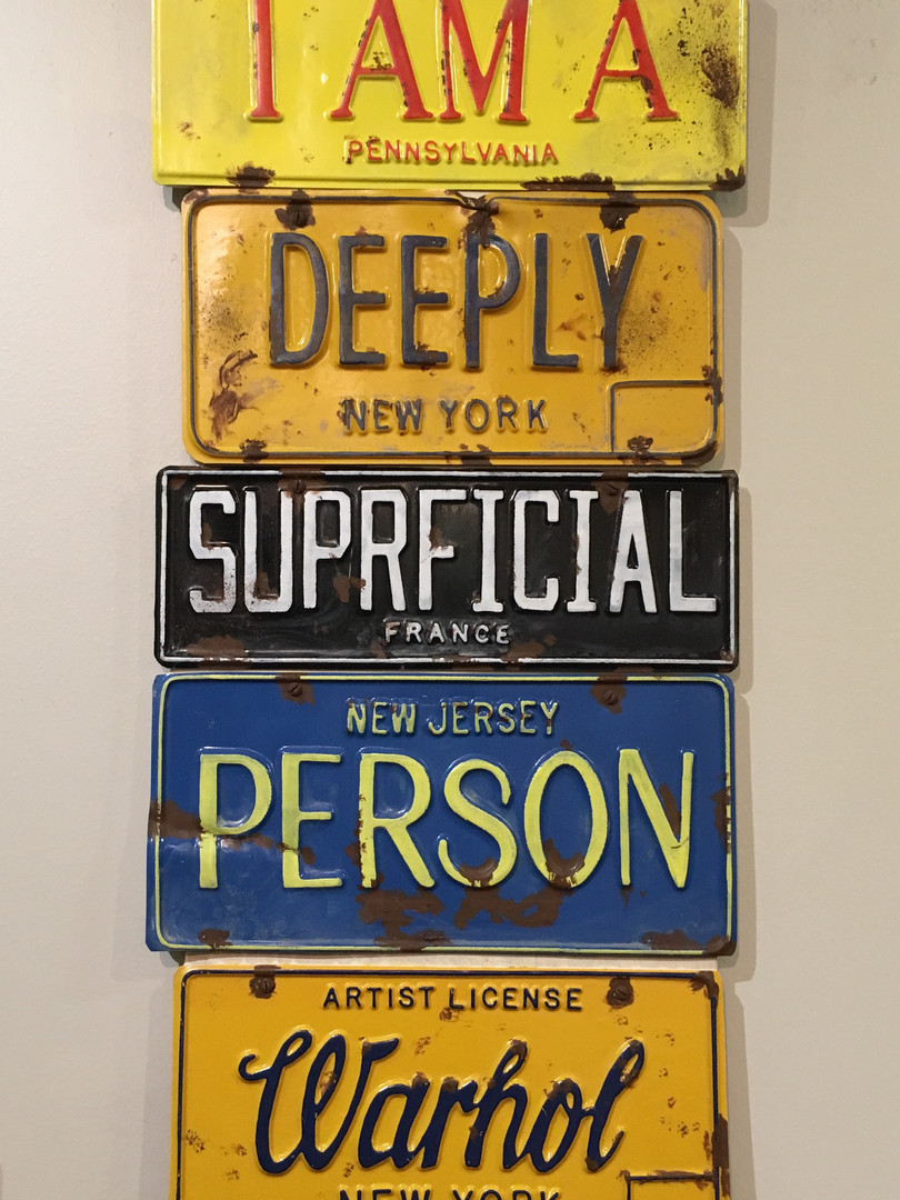 """I am a Deeply Superficial Person"", by Greg Constantine"