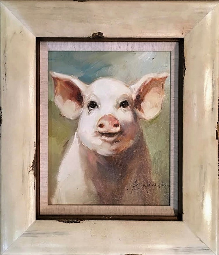 """Pig"" (small), by Simonini"