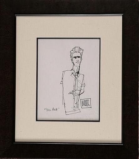 """Still Punk"" original sketch, by Todd White"