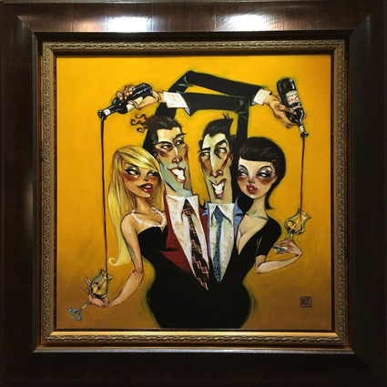 """""""Business as Usual"""" original, by Todd White"""
