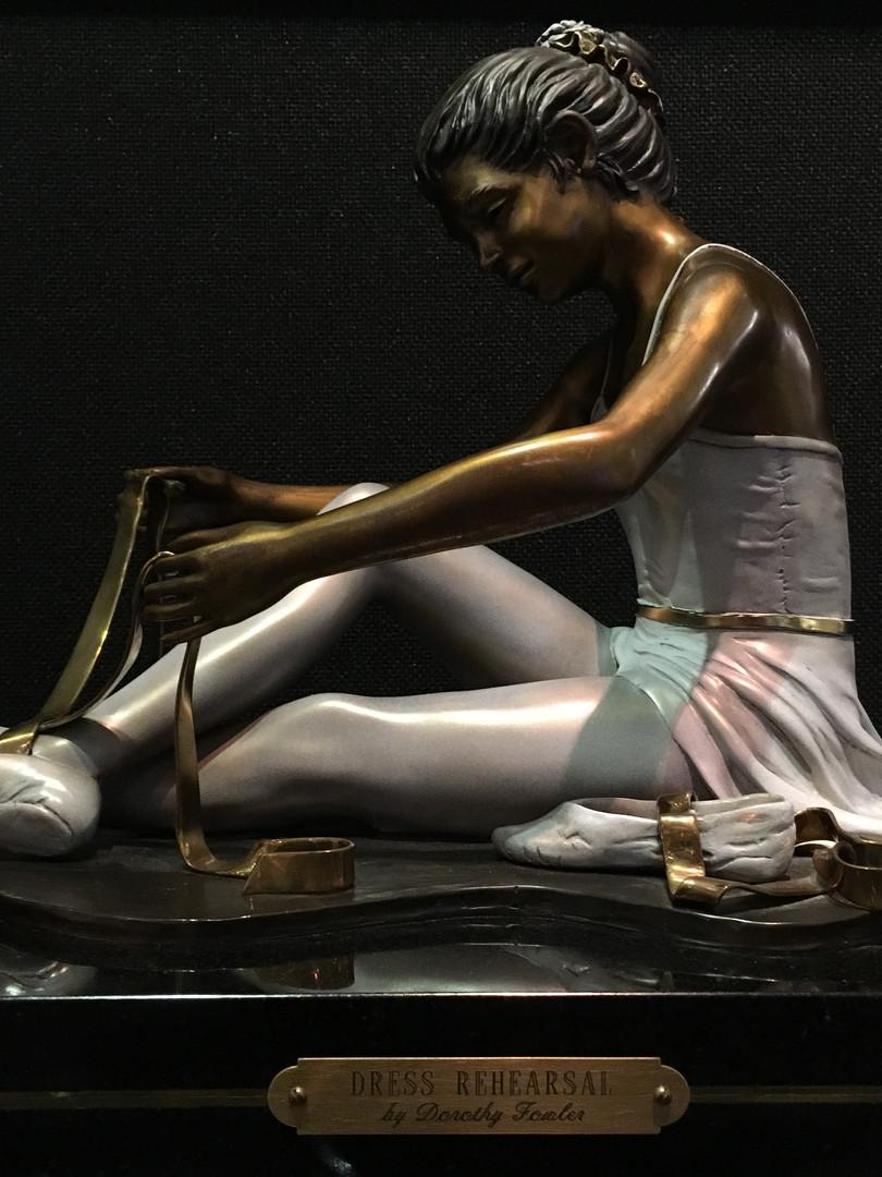 """Dress Rehearsal"", by Dorothy Fowler"