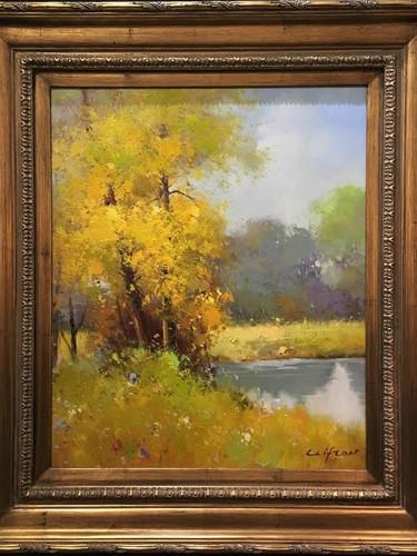 Untitled Original Landscape, by Clifton