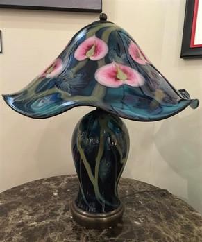 Glass-Blown Lamp, by Daniel Lotton