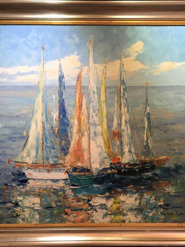 """""""Sailing Afternoon"""", by JL"""