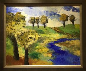 Original oil on canvas, by Deza