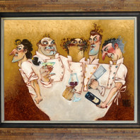 """""""Those Mad, Mad Chefs"""", by Todd White"""