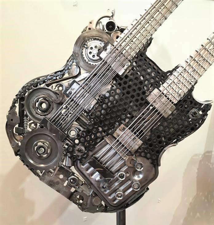 Double Neck Guitar (close-up)