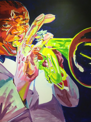 """Louis Armstrong"", by Philip Burke"