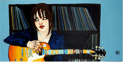 """""""Blues Girl at Heart"""", by Todd White"""