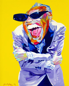 """Ray Charles"", by Philip Burke"