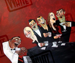 """""""Piano Bar"""", by Todd White"""