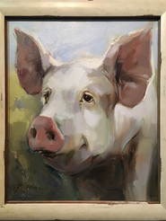 """Pig"" (large), by Simonini"