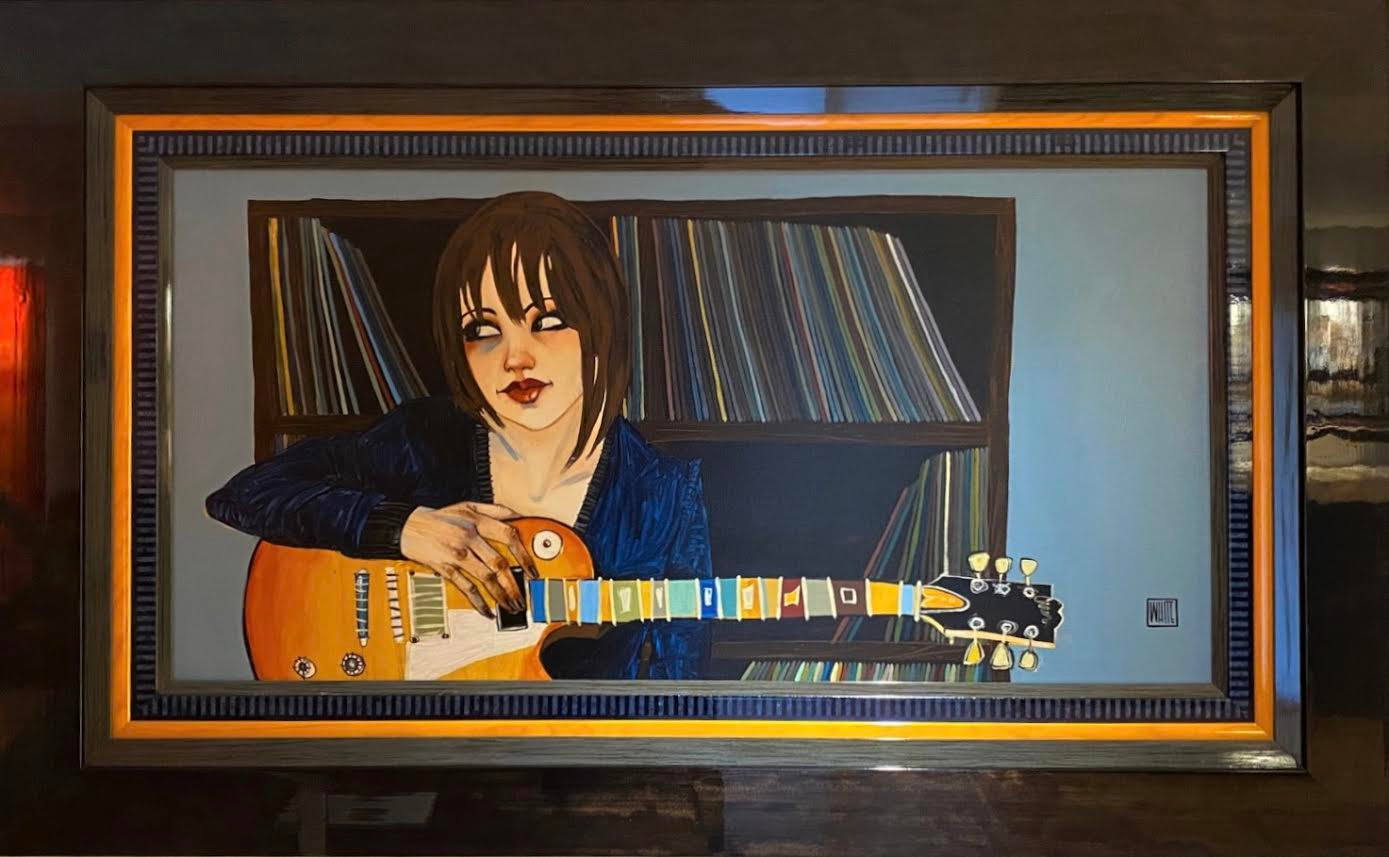 """Blues Girl At Heart"" original, by Todd White"