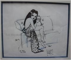 """Cami"" (original sketch), by Todd White"