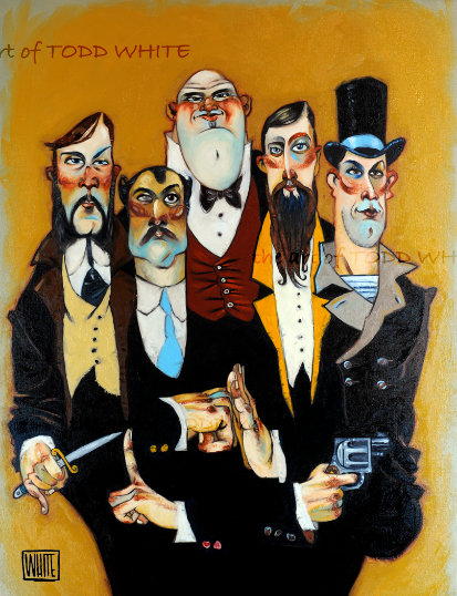 """Band of Thugs"", by Todd White"