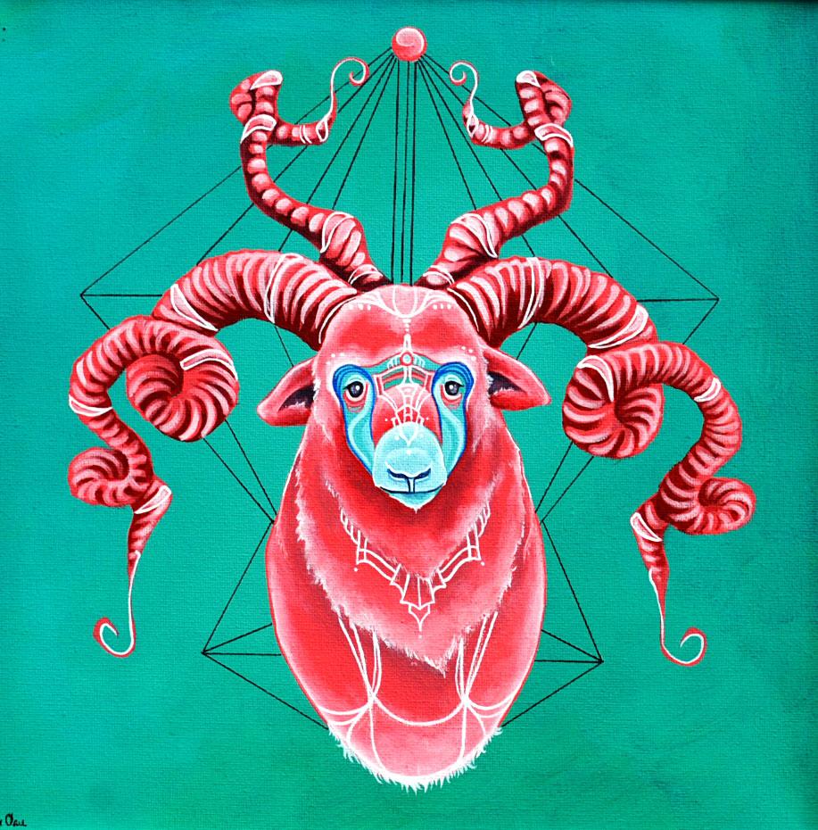 Sacred Animal (Ram)