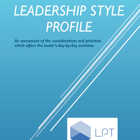 Online Personal Leadership Style Profile
