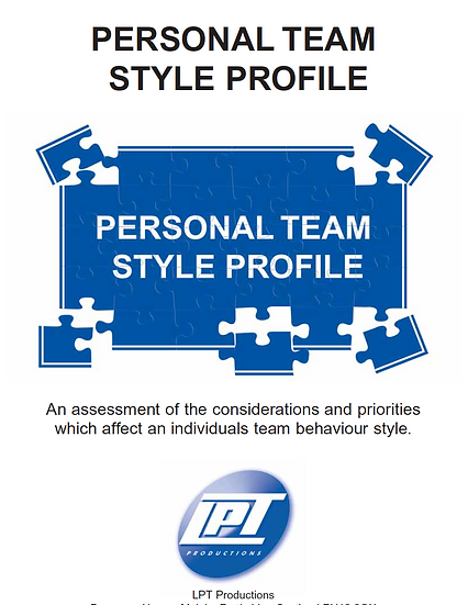 Personal Team Styles Profile
