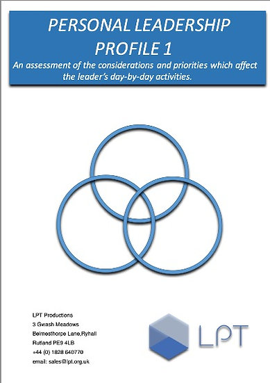 Action Centred Leadership Profile 1