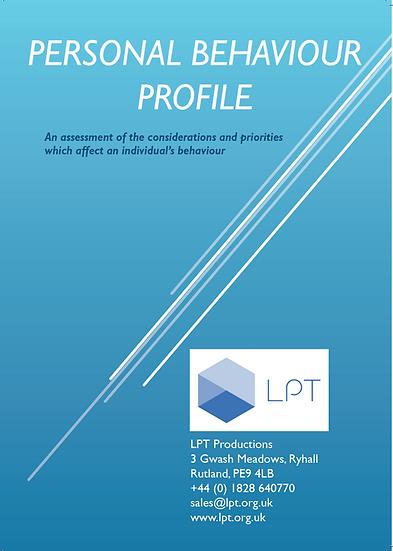 Personal Behaviour Profile