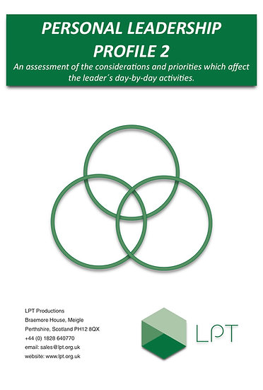 Action Centred Leadership Profile 2