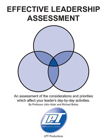 Effective Leadership Assessment