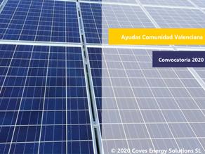 [Ayudas Autoconsumo]  Instalación de energía solar en la Comunidad Valenciana
