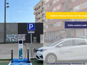 [Novedades] Inauguramos nuevo punto de recarga para vehículos eléctricos en el municipio de Sedaví