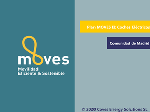 [Madrid] Segunda Comunidad Autónoma en lanzar las ayudas del Plan MOVES (Adquisición de Vehículos)