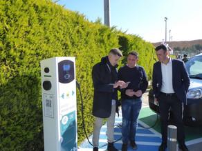 [Smart City] Inaguramos tres nuevos puntos de recarga públicos en La Nucía