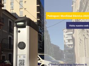 Pedreguer sigue incentivando la movilidad eléctrica