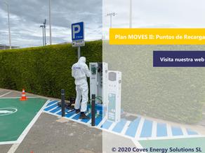 [Plan MOVES II] Ayudas para la instalación de puntos de recarga para vehículos eléctricos 2021