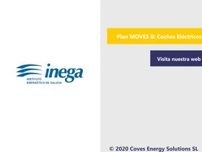 [Plan MOVES 2020] La Xunta de Galicia publica la convocatoria para fomentar la movilidad eléctrica