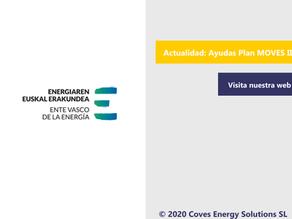 [Última Hora] El EVE gestionará el Plan MOVES 2020 en el País Vasco