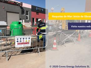 [Novedades] Iniciamos la instalación de tres electrolineras en Roquetas de Mar