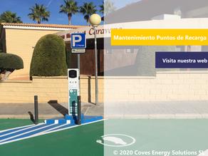 [Movilidad Eléctrica] Especialistas en la gestión y mantenimiento de puntos de recarga públicos
