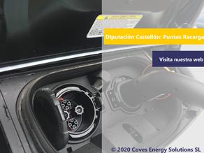 [Movilidad Eléctrica] La diputación de Castellón subvenciona la instalación de puntos de recarga