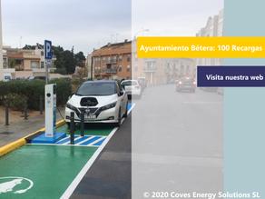 [Smart City] Celebramos las primeras 100 recargas en la ciudad de Bétera