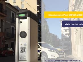 [Plan MOVES 2020] Luz verde a las ayudas para instalar puntos de recarga para coches eléctricos