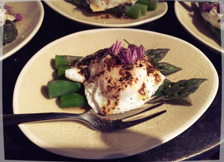 Bantams and Asparagus