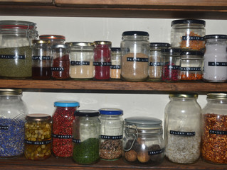Stocking the spice rack