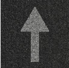 Arrow Carpet Tiles - 10 Pack