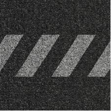 Chevron Demarcation Carpet Tiles - 10 Pack